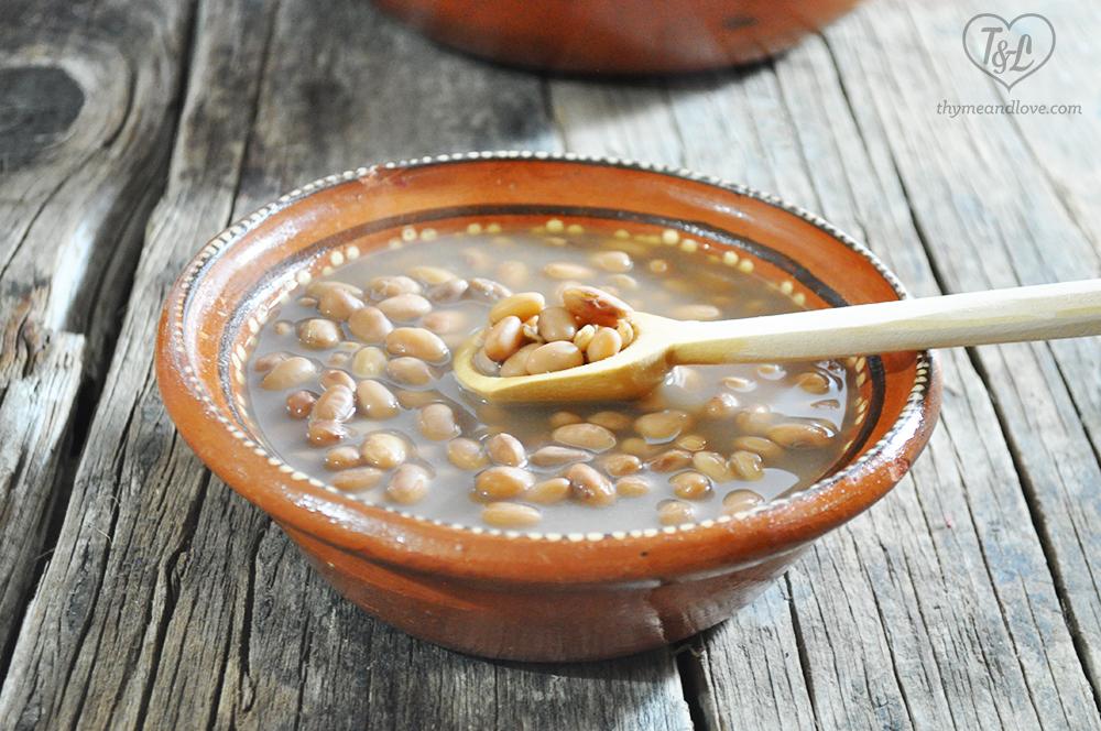 Frijoles de olla: Mexican Pot of Bean