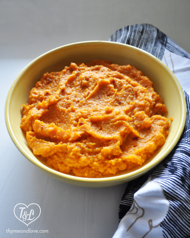 Chipotle Mashed Sweet Potatoes