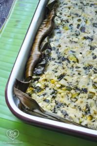 Tamale Stuffing: a stuffing made from tamale masa and filled with veggies. A great side dish for your Holiday meals!