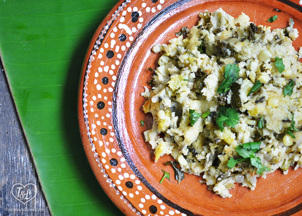 Tamale Stuffing: an easy and delicious side dish that also happens to be vegan + gluten-free!