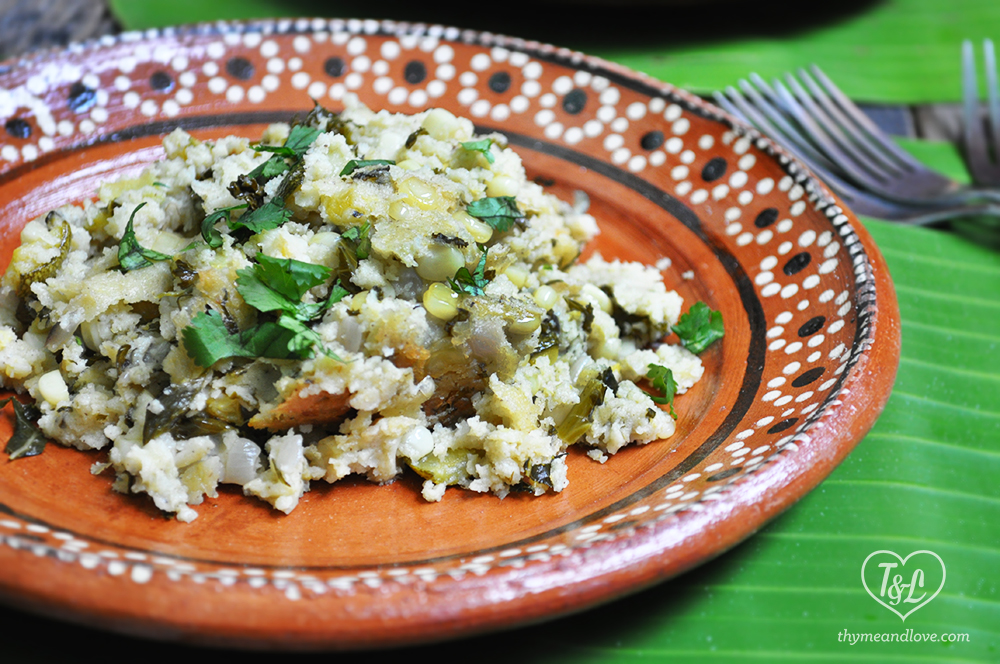Tamale Stuffing- a crowd pleasing side dish for Christmas