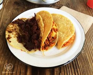 Vegan Tacos at Cate de mi Corazon in Mexico City