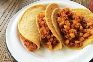 Cate de mi Corazon Vegan Tacos in Mexico City