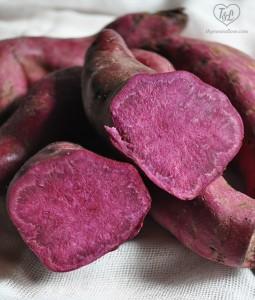 Purple Sweet Potato Muffins