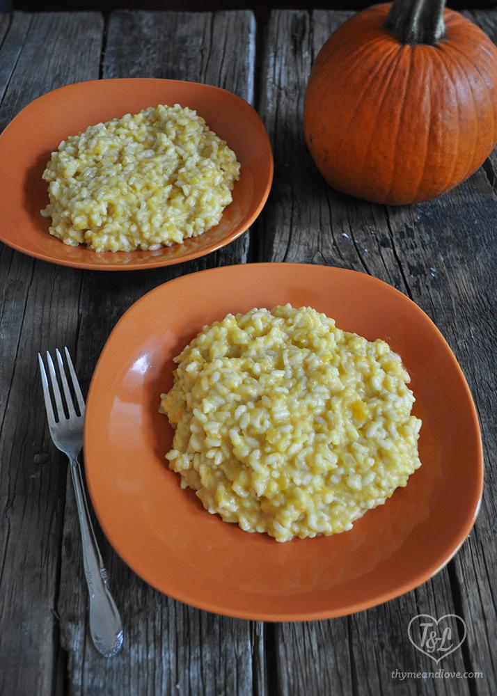 Vegan Pumpkin Risotto