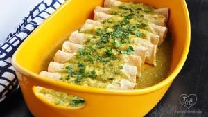 mashed-potato-enchiladas-green-sauce