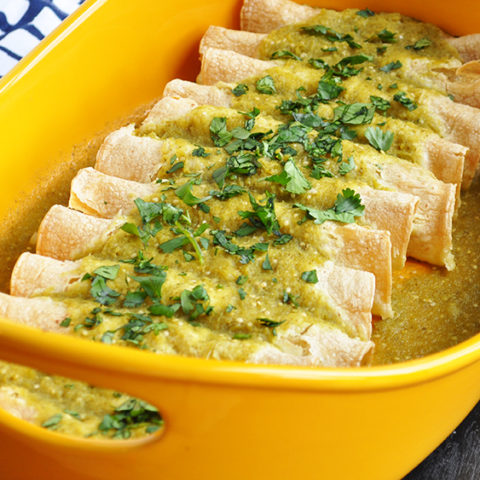 mashed-potato-enchiladas-green-sauce