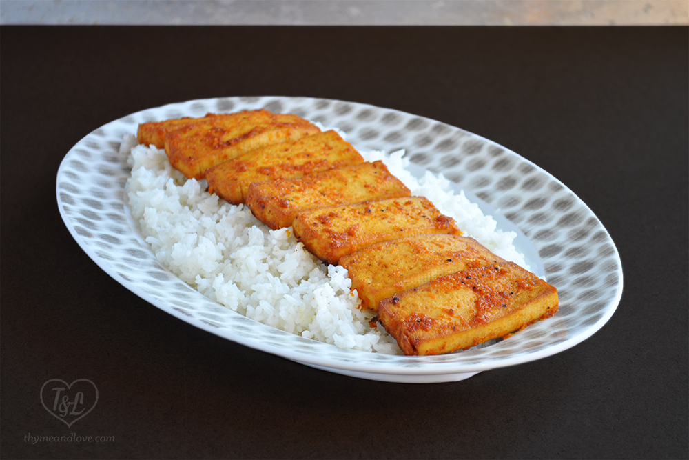 Orange Ginger Baked Tofu