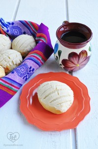 A classic Mexican Pan Dulce recipe for Conchas with a Vegan twist.