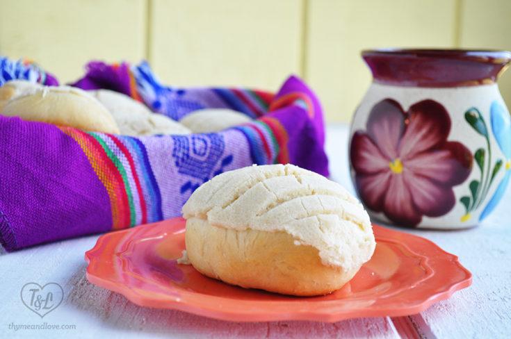 Vegan Conchas | Mexican Pan Dulce