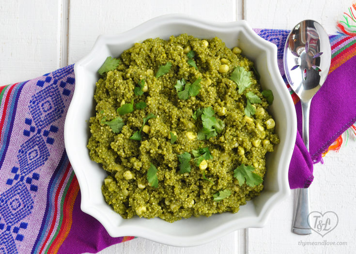 Mexican Green Quinoa