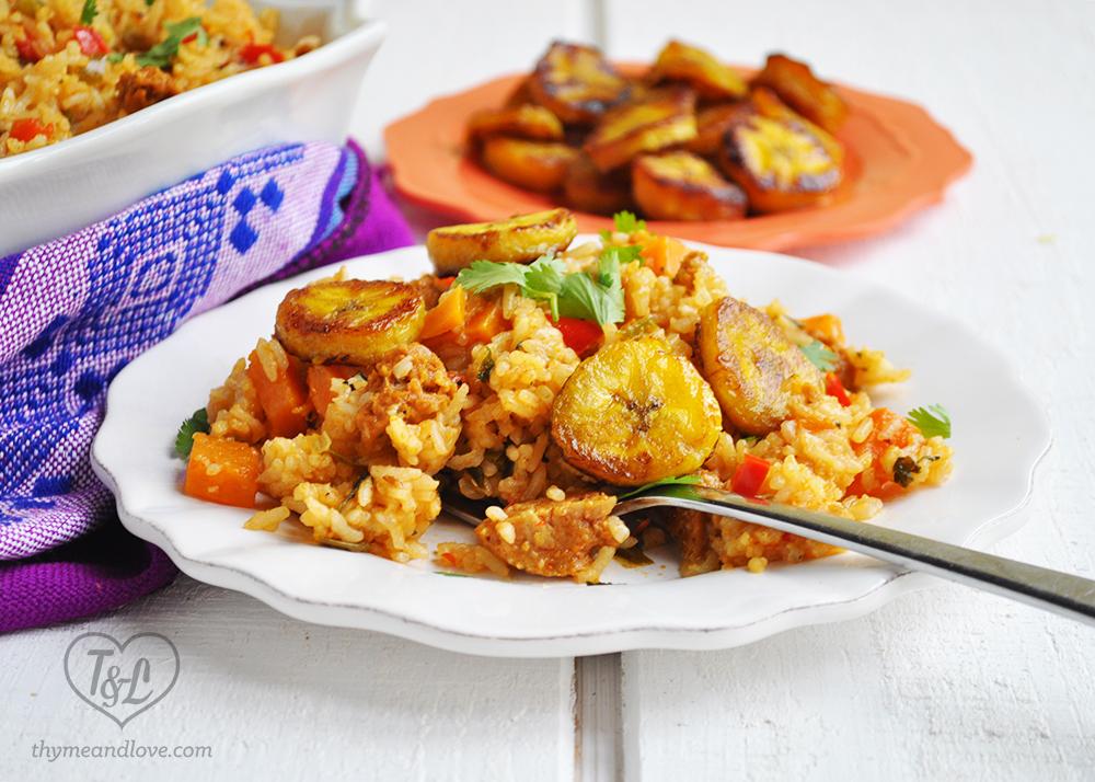 Vegan latin rice with chorizo thyme love vegan latin rice chorizo plaintain forumfinder Gallery