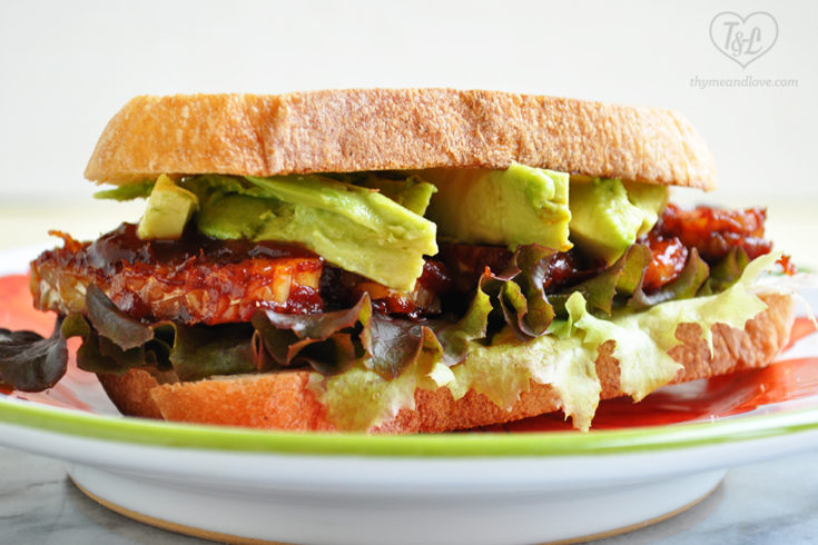 BBQ Baked Tempeh