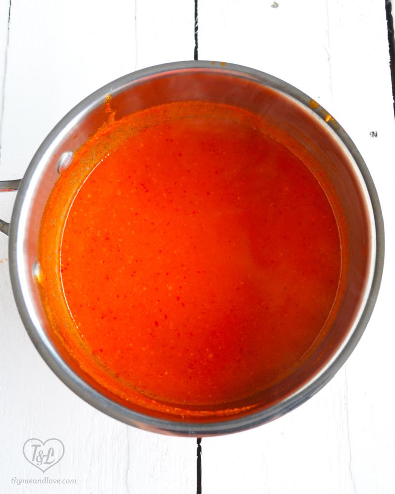 Salsa Roja: A classic Mexican table salsa!