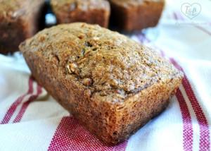 Zucchini Bread Mini Loaves #vegan