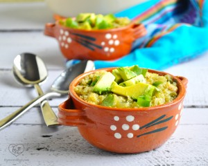 Quinoa Chili Verde is a vibrant and bright chili that is healthy, vegan, and gluten-free!