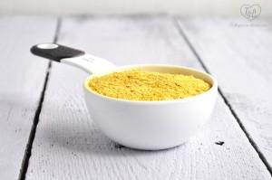 Nutritional Yeast creates a cheesy element to vegan potato soup!