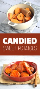 Mexican Candied Sweet Potatoes: sweet potatoes are simmered in a rich, piloncillo sauce. Perfect for Thanksgiving. #vegan #thanksgiving #sweetpotatoes