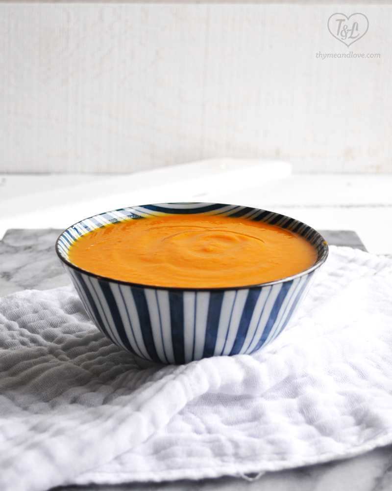 Sweet Potato, Squash and Carrot Soup: a healthy and warming soup ...