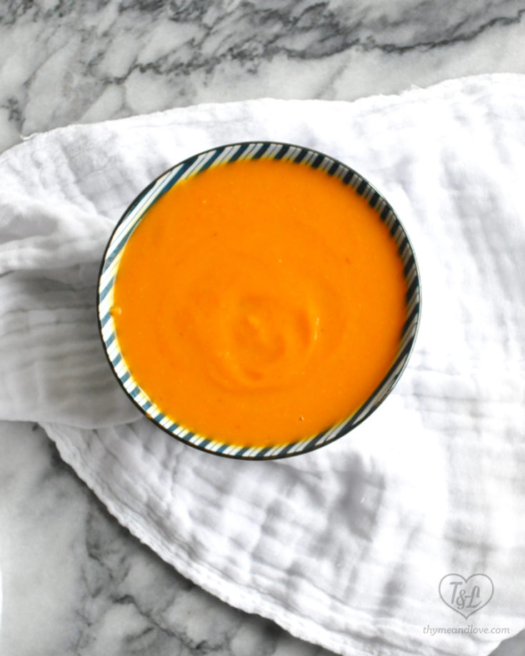 Sweet Potato, Squash and Carrot Soup
