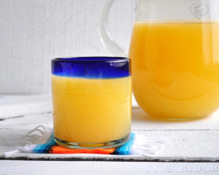 Orange Agua Fresca | Agua de Naranja