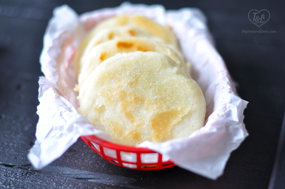 Venezuelan Arepas are the traditional daily bread. that is also gluten-free.