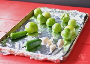 Homemade Roasted Salsa Verde