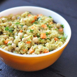 Curry Quinoa Chickpea Salad