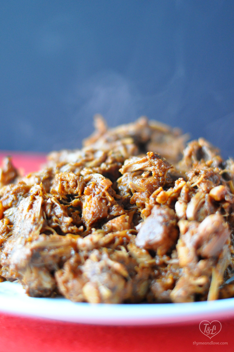 BBQ Slow Cooker Jackfruit- easy, simple, and delicious! #vegan #glutenfree #slowcooker