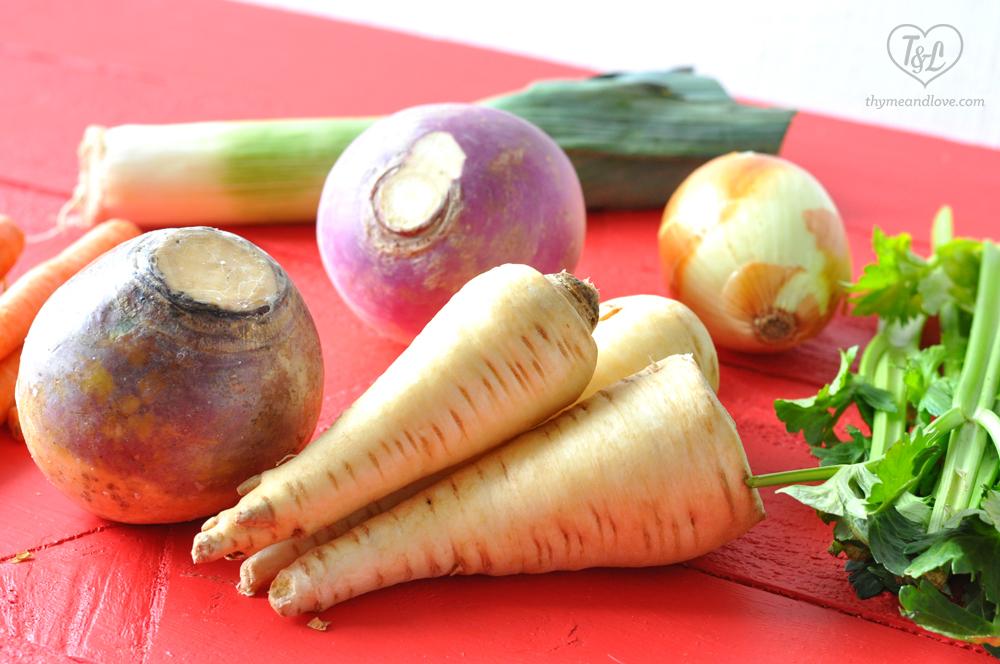 Irish Vegetable Stew featuring Root Vegetables