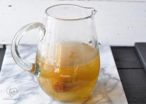 Papelon con Limon- traditional Venezuelan cold beverage