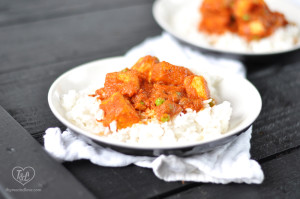 EASY + Satisfying plant-based meal that is bursting full of rich flavor from the tomato chipotle sauce! Serve over rice for a complete meal! #vegan #glutenfree #tofu #plantbased