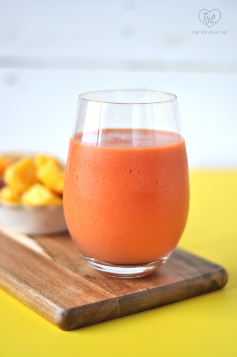 MetabolismBoosting Strawberry Mango Smoothie  The Butter