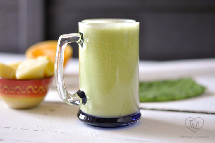 Pineapple Cactus Smoothie