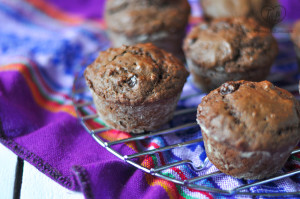 Vegan Chocolate Muffins are moist, tender and perfect for any chocolate lover! #vegan #chocolate #muffins