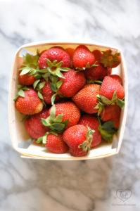 Fresh local Michigan Strawberries. #puremichigan #seasonal