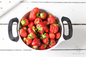 Tips of preserving strawberries when they are in season.