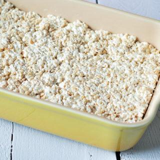 Strawberry Rice Crispy Treats