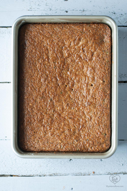Vegan Zucchini Carrot Cake