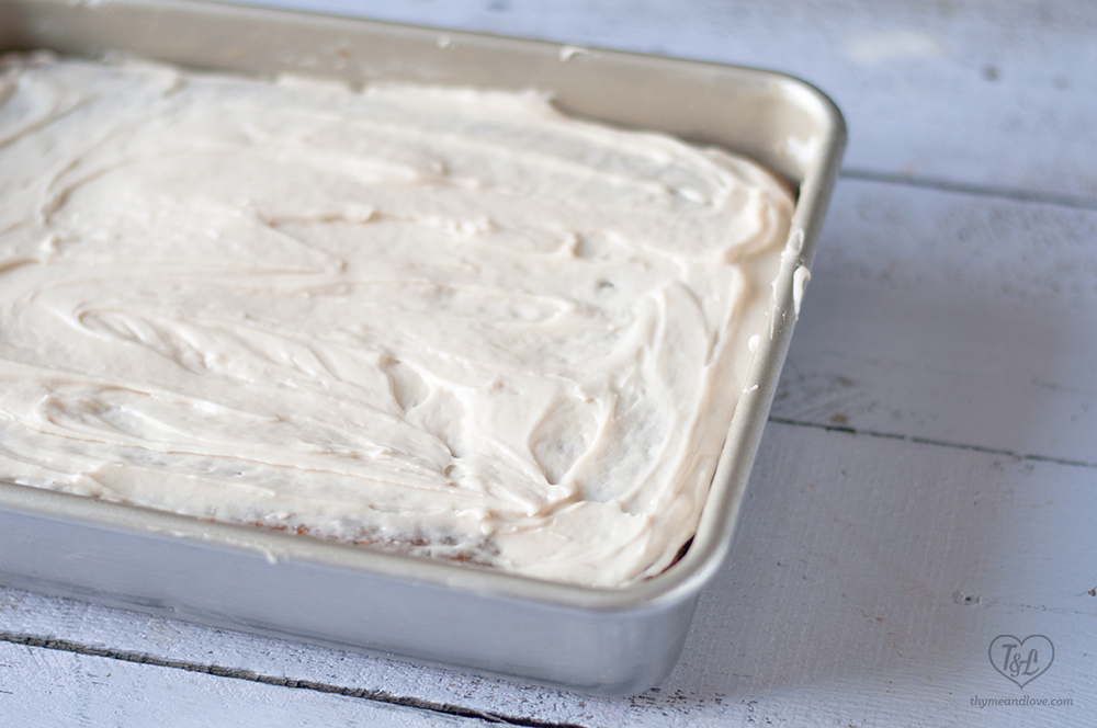 Vegan Zucchini Carrot Cake with Cream Cheese Frosting