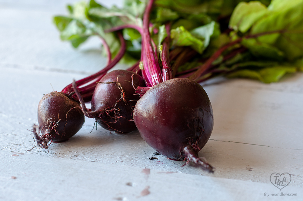 Roasted Red Beets make a beautiful addition to salads. #vegetables #plantbased