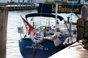 Mackinac Island Travel Tips: take a sail boat ride with Sail Mackinac!