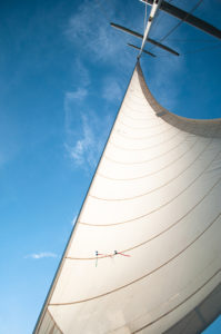 Take a sail boat ride with Sail Mackinac; a definite must when visiting Mackinac Island! #michigan #travel