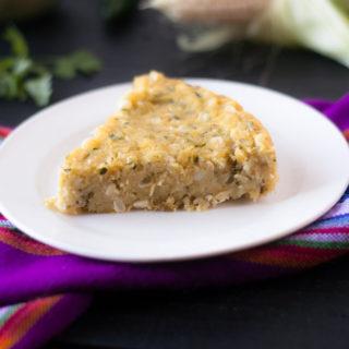 Zucchini Corn Tamal Casserole