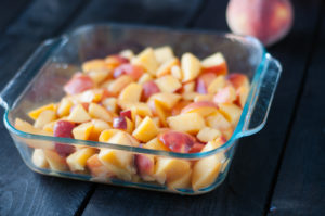 Peach Crisp is the perfect dessert for summer. It's easy, naturally vegan and gluten-free!
