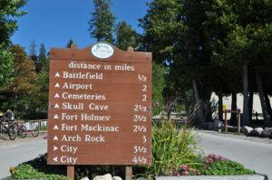 Mackinac Island Travel Tips: including riding bikes around the island! #Michigan #travel