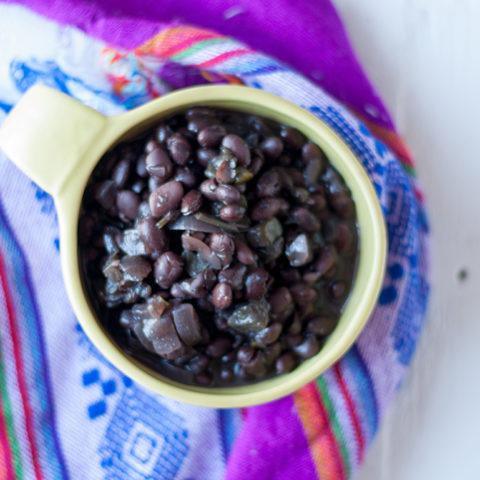 Slow Cooker Venezuelan Black Beans