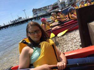 Arch Rock Kayak Tour on Mackinac Island: a great tour and something different to do on the island!