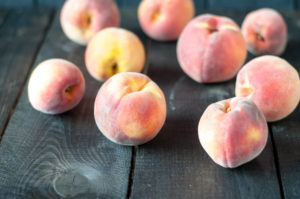Peaches make a great addition to savory dishes like Slow Cooker BBQ Peach Jackfruit!