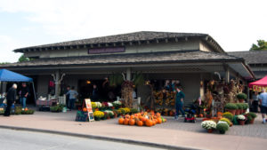 Farmers Market at Greenfield Village during the Fall Flavors Weekend